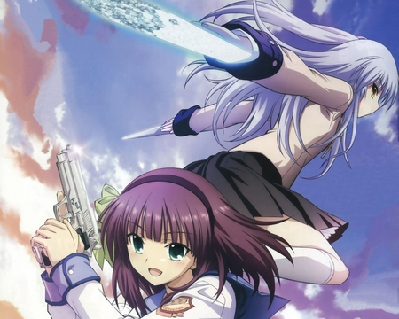 angel beats 2 - cute, angel beats, beautiful amazing, anime, awesome