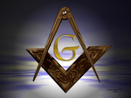 Masonic Symbol 3d And Cg Abstract Background Wallpapers On