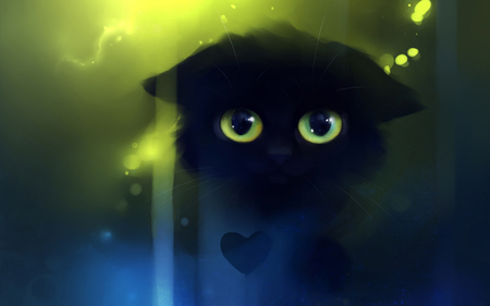 Cute 3d Cat For Cute Girls 3d And Cg Abstract Background