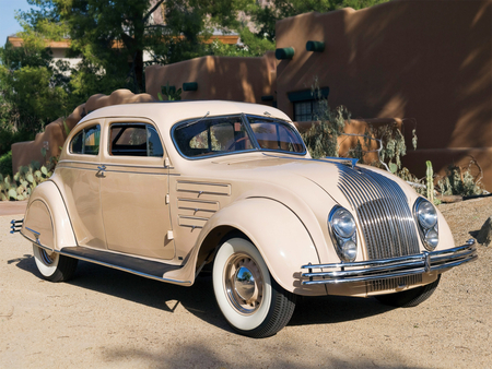 Chrysler Airflow - antique, flow, chrysler, air, car, classic, airflow
