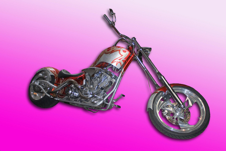Custom Chopper - choppers, harley, motorcycles, bikes