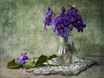 Purple still life
