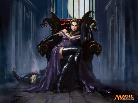 Magic the Gathering Liliana - magic, gathering, mtg, liliana