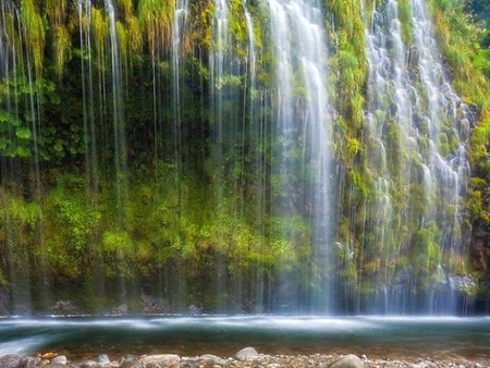 Cool Falls - beautiful, cool, wateralls, picture