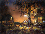 Terry Redlin. Twilight Time