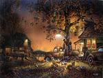 Terry Redlin. Twilight Time