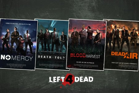 Left 4 Dead Maps left 4 dead   campain maps   Other & Video Games Background
