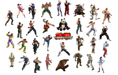Tekken 5 Tekken Video Games Background Wallpapers On Desktop