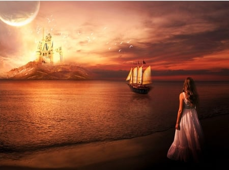 Still Waiting For You Fantasy Abstract Background Wallpapers On