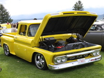 GMC truck at the Radium Hot Springs car show 104