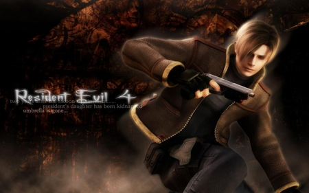 Resident Evil 4 Leon S Kennedy Resident Evil Video Games