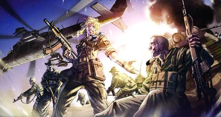 War zone other anime background wallpapers on desktop - Anime war wallpaper ...