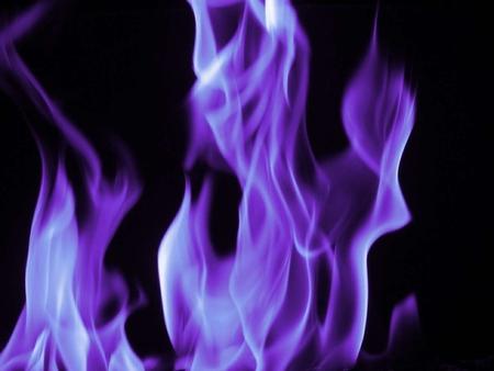 Как сделать огонь фиолетовым на