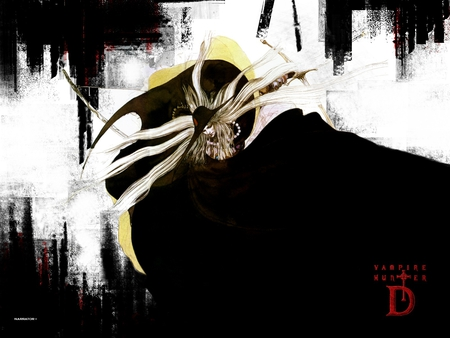 D ~ Amano - vampire hunter d, anime, men, vampire, d