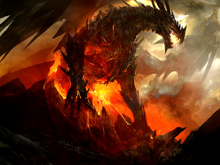 angry dragon 3d and cg abstract background wallpapers on desktop