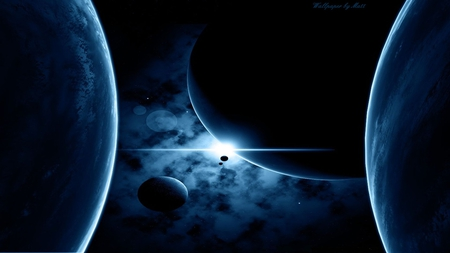 The final frontier planets space background wallpapers - Final space wallpaper ...