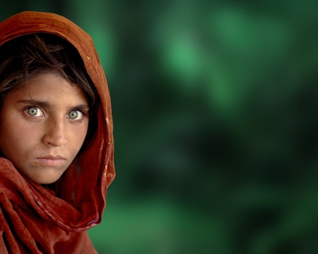 Afghan Girl In Other