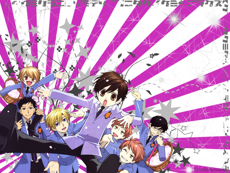 Ouran High School Host Club - ouran host club, ohshc, anime, wallpaper