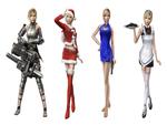 Aya Brea ~ Various Costumes