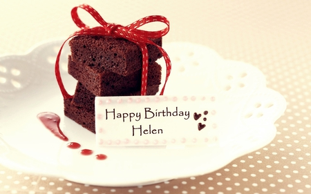 Happy Birthday Cake Helen