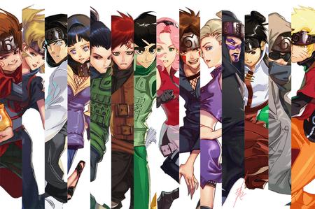 Characters Of Naruto Shippuden Naruto Anime Background