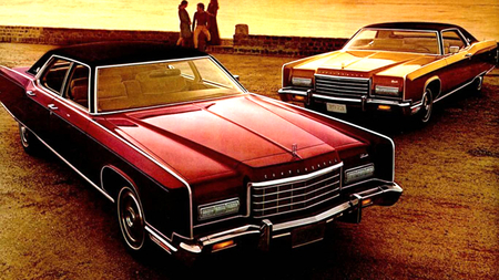 1973 Lincolns - cars, lincoln, automobiles, advertising