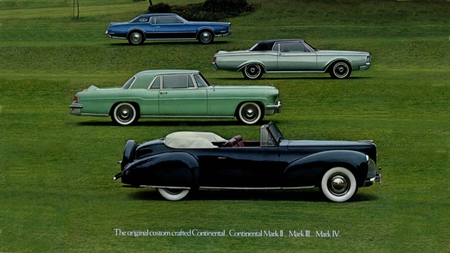 Lincoln line of Marks - cars, autos, advertising, wallpaper, lincoln, vintage