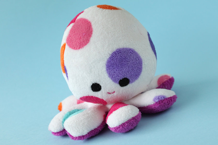 colorful octopus - colorful, octopus, stuff, soft, toys, animal, cuddly