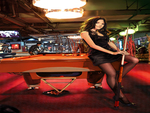 Pool Table Girl