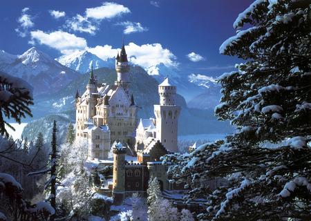 Neuschwanstein Castle - castle, bavaria, neuschwanstein castle, arquitecture, germany
