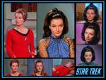 Diana Muldaur as Ann Mulhall and Dr. Miranda Jones