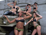 army babes