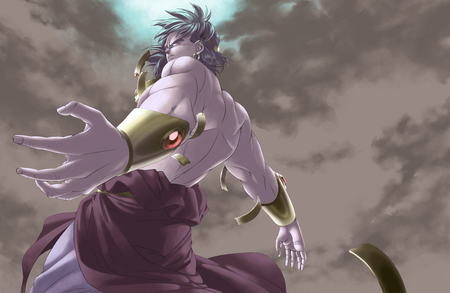 Broly - base, broly, legendary, warrior