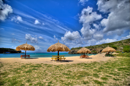 Welcome To Curacao Beach - beach, curacao, island, dutch