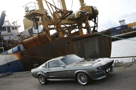 Shelby GT500 Eleanor - 500, gt, muscle, ford, eleanor, shelby, classic