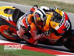 Dani-Pedrosa-couldnt-hold-off-the-Yamaha-pair-and-finished-third-at-Misano-MotoGP