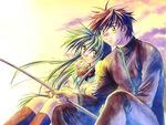 Sosuke & Kaname Fishing