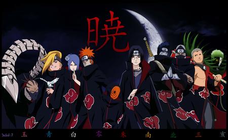 Akatsuki 5 Naruto Anime Background Wallpapers On Desktop Nexus Image 846370
