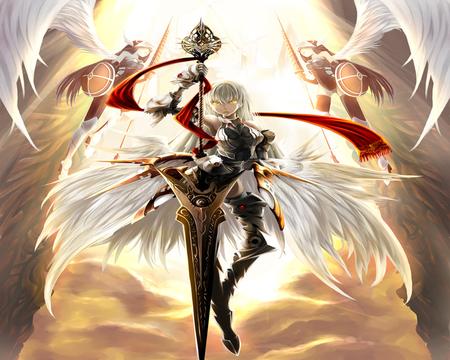 Angel Of Knight Warrior