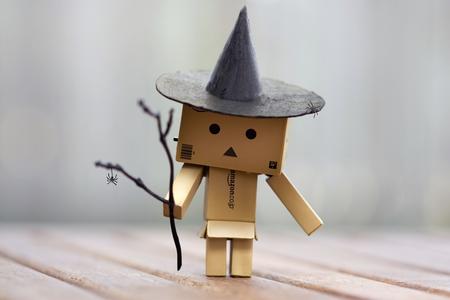 BoxMan Dambo - dambo, halloween, man, happy, box