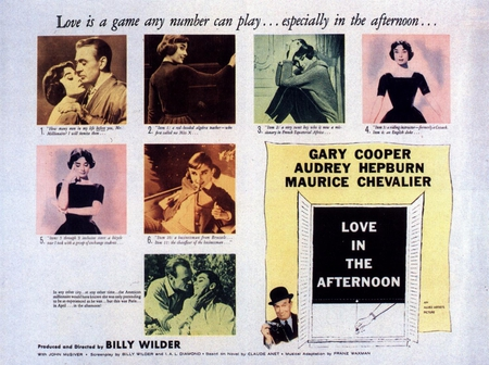 audrey on the scene - audrey hepburn, afternoon, short, love