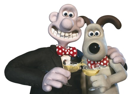 Friends Forever - animated, wallace, movies, stop action, gromit