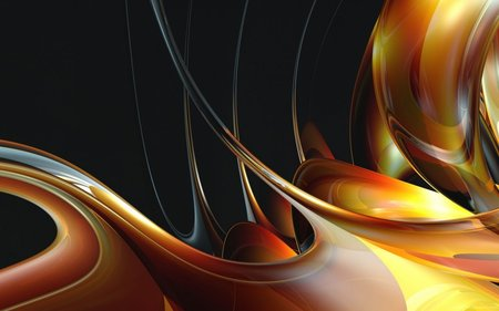 Golden Colour Variety Textures Abstract Background