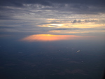 Sunsets from my plane
