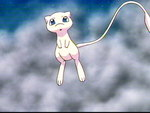 Mew on the cloudy sky...