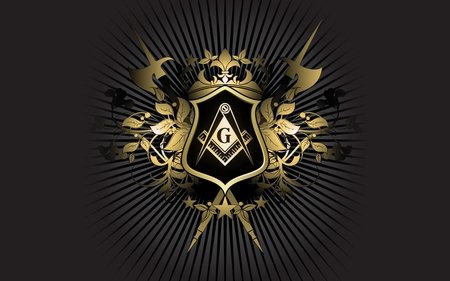 Masonic Crest - fraternity, symbol, freemason, mason, compass, square, freemasonry, masonic, crest