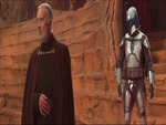 Count Dooku and Jango Fett