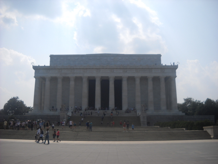 Lincoln Memorial - washington dc, monument, lincoln, us