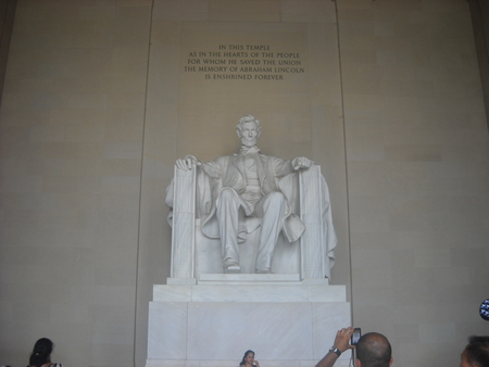 Lincoln Memorial - washington dc, president, monument, lincoln