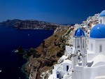 The white and blue of Cyclades